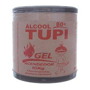 Tupi Álcool Gel Acendedor 10 kg