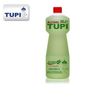 Tupi  Álcool Perfumado 46,2° Eucalipto 1L