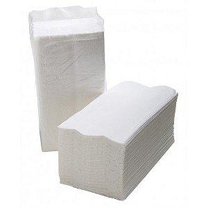 Papel Toalha Interfolha 100% Celulose 22 cm x 21 cm c/ 2400 un.