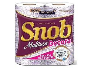 Snob Decora Papel Toalha Rolo c/2 un.