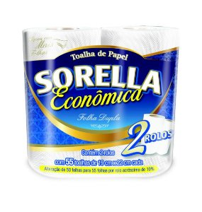 Sorella Fardo de Papel Toalha C/ 24 rolos