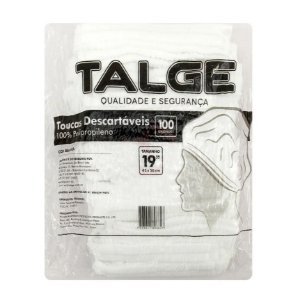 Talge Touca Descartável  C/ 100 un.