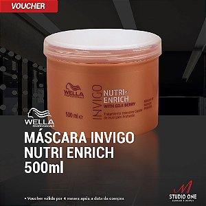 Máscara Wella Invigo Nutri Enrich 500g