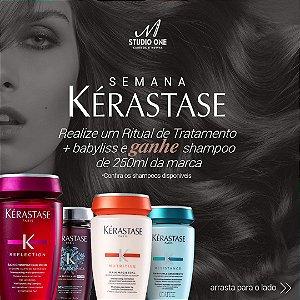 Ritual de Tratamento Kerastase + Babyliss + Shampoo Kerastase Grátis