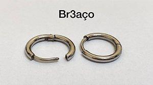 Brinco segmentado aço cirúrgico/Par