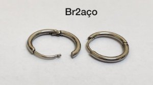 Brinco segmentado aço cirúrgico
