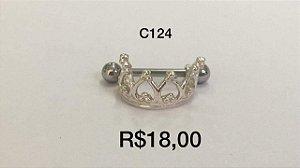 Mini Coroa em Prata