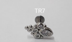 tragus indiano c/rosca int.