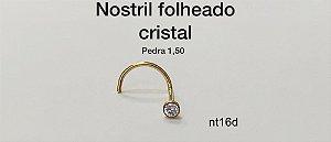 nostril folheado cristal 1,50
