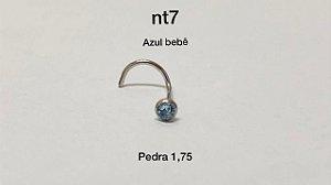 nostril azul bebê 1,75