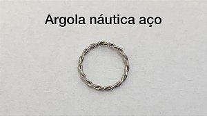argola nautica aço 8mm
