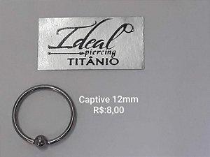 captive titanio 10mm