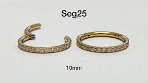 segmento aço dourado 10mm