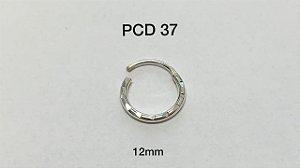 segmento em prata articulado 12mm