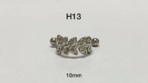 helix folheado 10mm