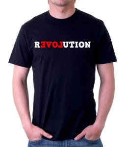 Camiseta revolutions   - 100% Algodao