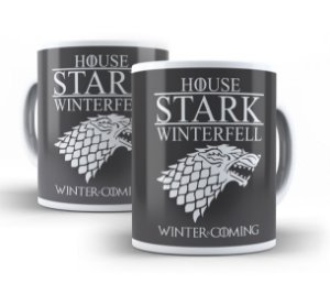 Caneca Game of Thrones House Stark