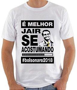 Camiseta Jair Bolsonaro (modelo 05)