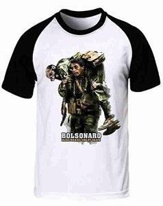 Camiseta Raglan Jair Bolsonaro (modelo 01)