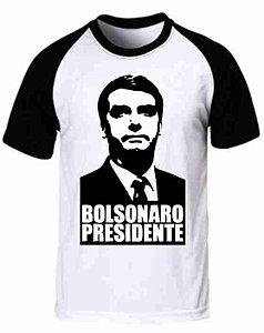 Camiseta Raglan Jair Bolsonaro (modelo 03)
