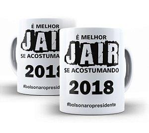 Caneca Bolsonaro Presidente (modelo 02)