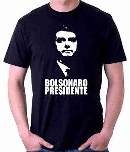 Camiseta Preta Bolsonaro Presidente