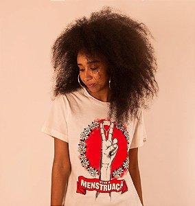 Camiseta Korui - Viva a Menstruação