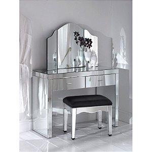 Conjunto com 5 peças - espelhado para quarto  ou closet, 200x85x45 cm.