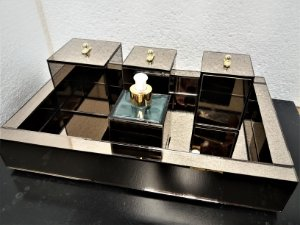 Kit Lavabo com bandeja de 40x30x05 Cm