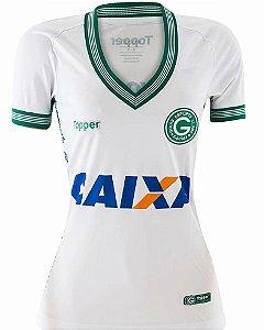 Camisa Feminina Goiás 2 Topper 2018 2019 4c57eba58c063