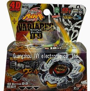 Beyblade Metal Fusion 4D - Variares (BB114) Original Rapidity