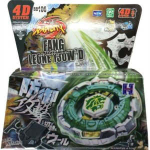 Beyblade Metal Fusion 4D - Fang Leone (BB106) Original Rapidity