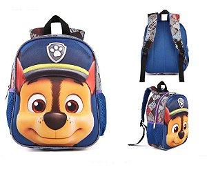 Mochila Infantil Escolar Patrulha Canina - Promoção Volta Ás Aulas