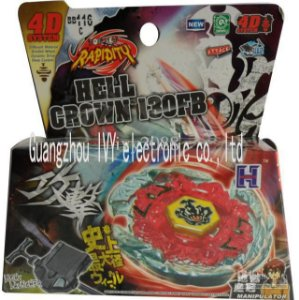 Beyblade Metal Fusion 4D - Hell Crown (BB116C) Original Rapidity