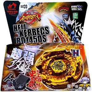 Beyblade Metal Fusion 4D - Hell Kerbecs (BB99) Original Rapidity
