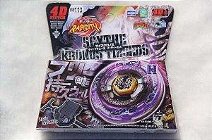 Beyblade Metal Fusion 4D - Scythe Kronos (BB113) Original Rapidity
