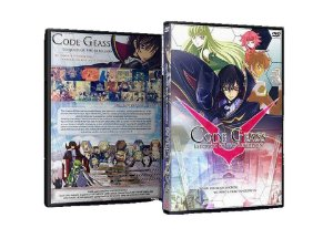 Code Geass 1ª e 2ª Temporadas, Box Completo Dvd ( Mídias Printadas )
