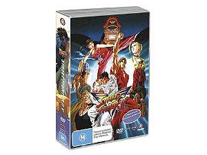 Street Fighter 2 Victory, Box Completo Dvd ( Mídias Printadas )