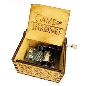 Caixa de Música Game of Thrones, Trilha Sonora Edição de Colecionador