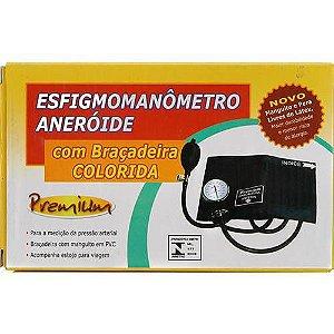 Esfigmomanômetro aneróide adulto Premium