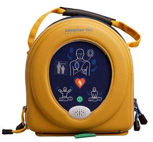 Desfibrilador Samaritan PAD 350P com Estojo, PadPak Adulto – HeartSine