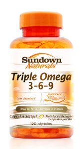 Triple (Omega 3-6-9) 120 Cápsulas - Sundown