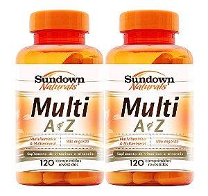 COMBO - 2x Multi AZ (Multivitamínico) 120 cápsulas - Sundown