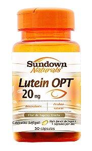 Luteina OPT 20mg (Luteína) 30 Cápsulas - Sundown
