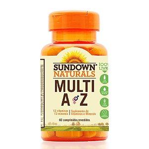Multi AZ (Multivitamínico) 60 Comprimidos - Sundown