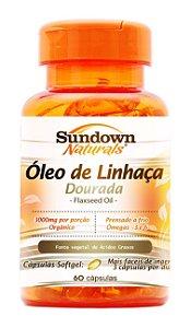Óleo de Linhaça (60 Cápsulas) - Sundown