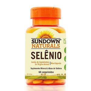 Selênio 34mcg (60 Comprimidos) - Sundown