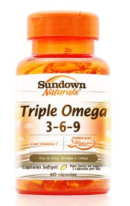 Triple (Omega 3-6-9) 60 Cápsulas - Sundown