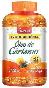 Óleo de Cartamo 1000 mg (180 Cápsulas) - Tiaraju
