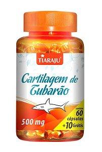 Cartilagem de Tubarão (60 Cápsulas) - Tiaraju
